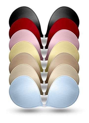 picture of adhesive bras in different colors